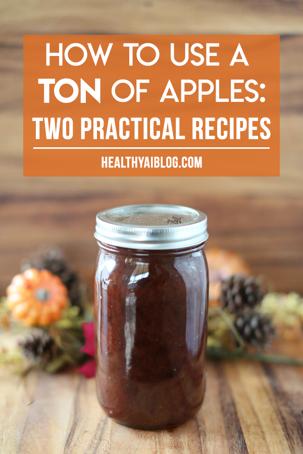 how to use a ton of apples two practical recipes- healthyaiblog.com
