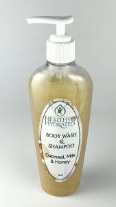 Gift bag special oatmeal milk & honey body wash
