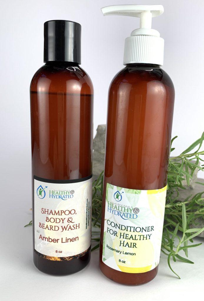 shampoo & conditioner skin care for men