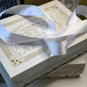 head to toe gift box wrapping