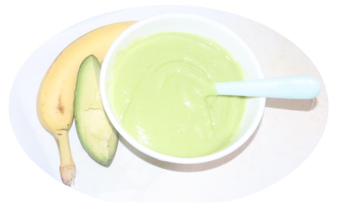 Avocado-Banana Puree/recipe