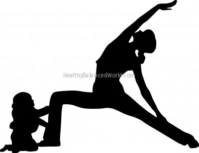 Yoga forHealthy and Mommy Sanity