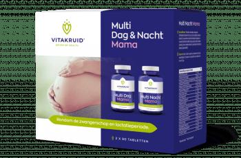 Vitakruid multi dag en nacht mama 90 tabletten