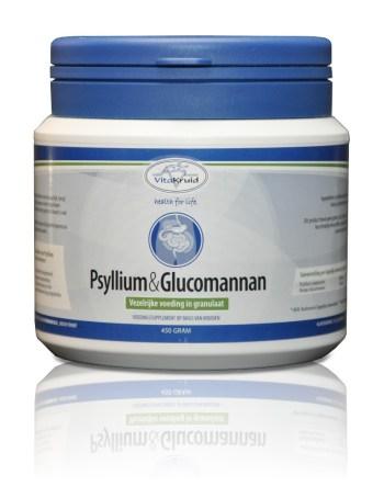 Vitakruid psyllium en glucomannan