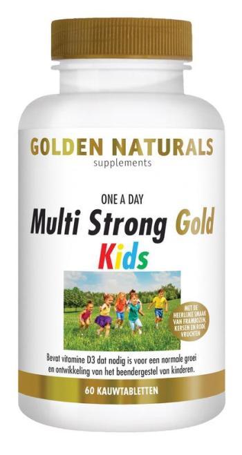 Golden naturals multivitamine kids actieve vormen strong