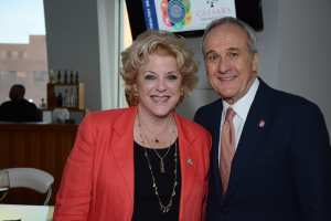 Mayor Goodman with Larry Ruvo