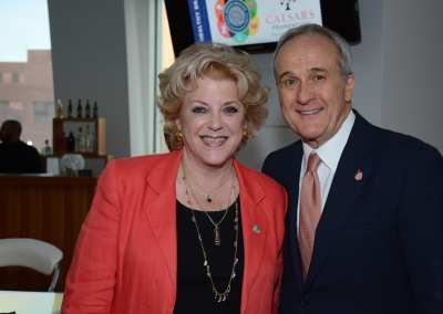 Mayor Goodman with Larry Ruvo