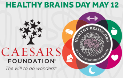 May 12th is Healthy Brains Day!
