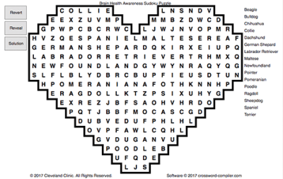 """Dog Days of Summer"" Word Search"
