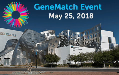 GeneMatch Event – May 25, 2018