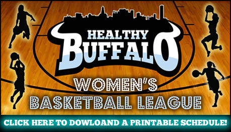 Womens Basketball League Schedule Button