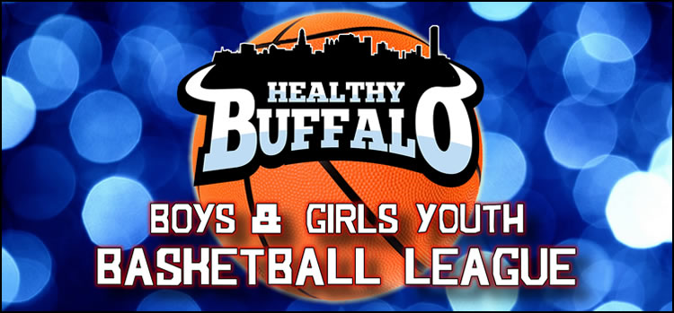 Youth Basketball League Logo Border 750
