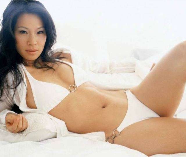 Lucy Liu Poses For A Modeling Photoshoot In 2014