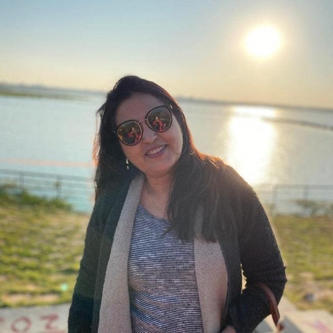 Neelu Kohli as seen in a picture that was taken in May 2021