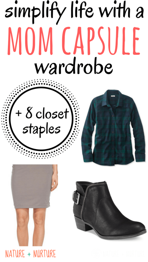 Are you searching for small ways to make your life simpler? A mom capsule wardrobe is a great way to simplify wardrobe and feel pretty.