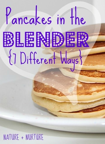 "Quick Pancakes in the Blender! You'll Never Make ""Normal"" Pancakes Again After Reading This"