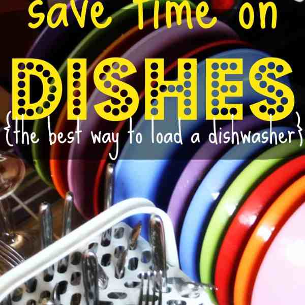 How To Load a Dishwasher (and Use It to It's Full Potential)