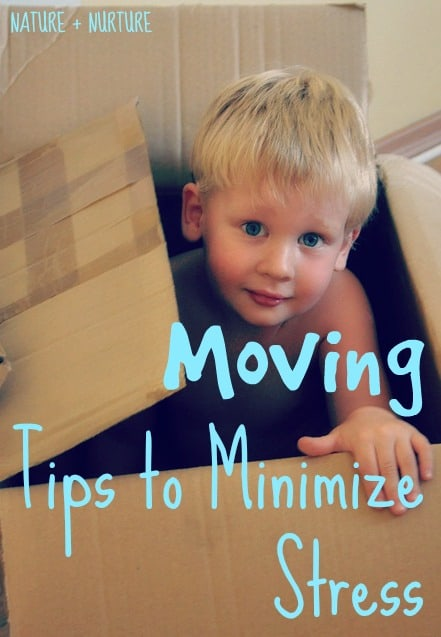 Moving Tips to Minimize Stress (plus why I'm glad we have moved so much)