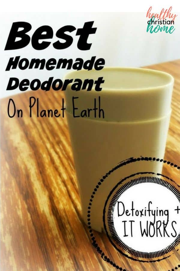 Homemade deodorant that actually works can be difficult to create. This is the best natural DIY deodorant ever! This non-toxic deodorant is great for your skin. All natural deodorant recipe with coconut oil, bentonite clay, & essential oils.