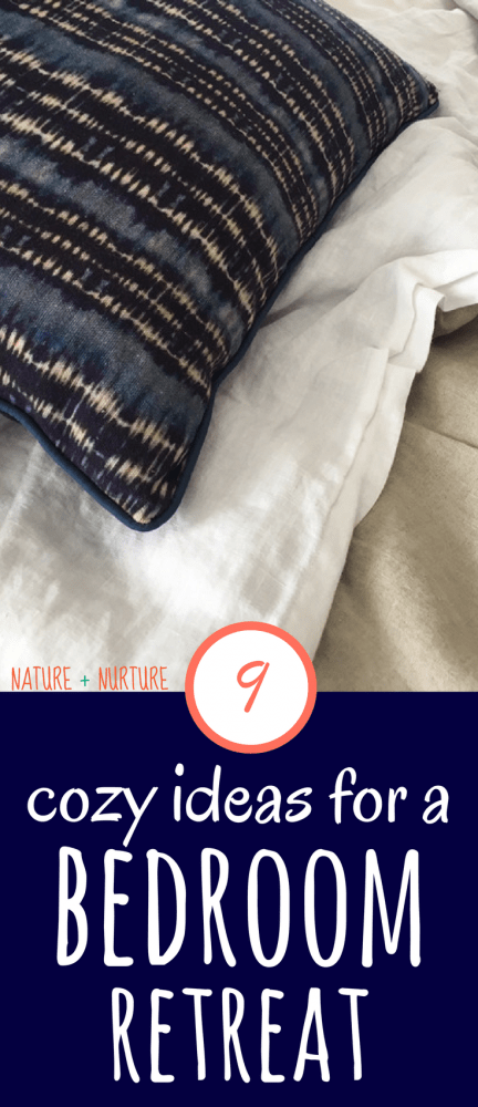 Learn how to create a bedroom retreat with 9 cozy bedroom ideas to make the bedroom your favorite (and most relaxing) room in the house!