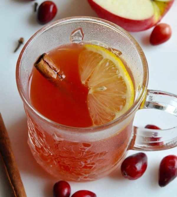 Healthy Cranberry Wassail Recipe {the Perfect Holiday