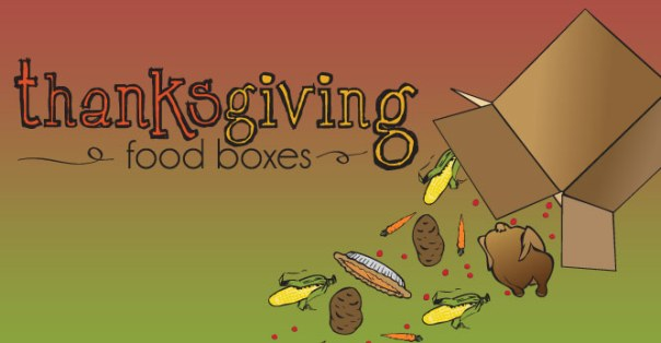thanksgiving food boxes two