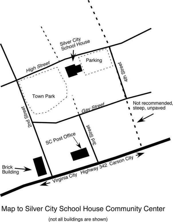 map to silver city school house by bob elston