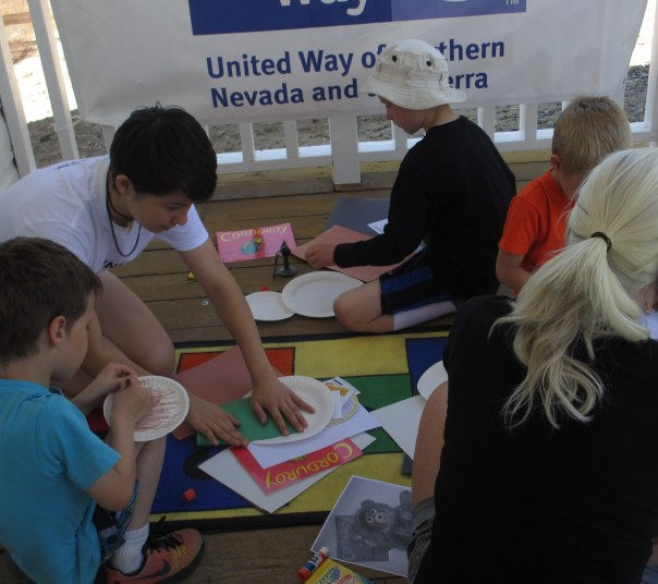 making a bear with united way