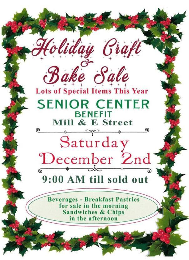 storey senior center holiday sale