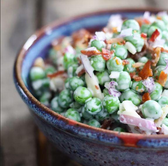 turkey and pea salad