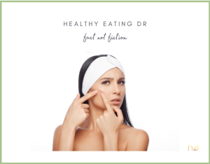 All You Need To Know About Diet and Acne Now