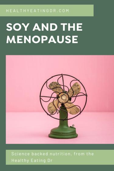 soy menopausal hot flushes