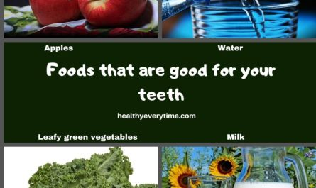 Good foods for the teeth