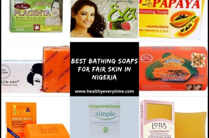 Best Soap For Fair Skin In Nigeria (Top 8 Soaps)