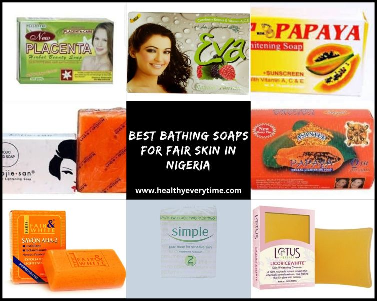 Best Soap For Fair Skin in Nigeria (Best Bathing Soap FOr fair skin in Nigeria)