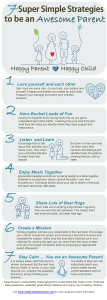 Follow these steps to be an even better parent. Awesome parent infographic