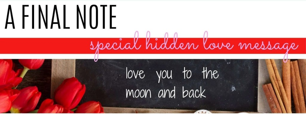 special Valentine's note