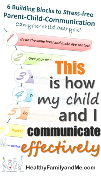 This is how my child and I communicate effectively. #parentchildcommunication #bestparent #goodparentingtips