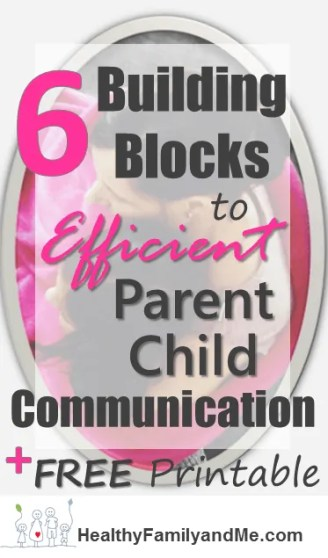 Do you need tips to speak so your child actually listens? Then check out these 6 building blocks to effective parent-child communication. Implement them today. #parentchildcommunication #goodparenting #bestparent #parentingtips