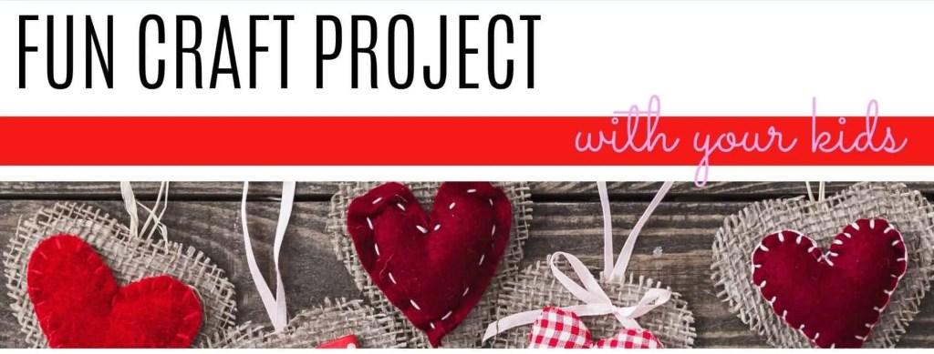 valentine's craft project