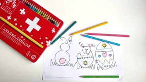 Try these bright coloring pencils with My magic Kids Coloring Book from HealthyFamilyandMe.com