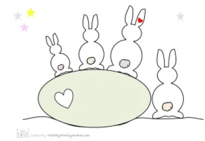 Free give aways for Easter to print and enjoy by www.healthyfamilyandme.com