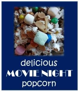 Make movie night special with this yummy popcorn mix. www.HealthyFamilyandMe.com