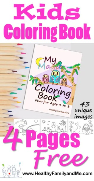 Kids coloring book with free coloring pages. Check out this brain booster coloring book for kids. #kidscoloring #freecoloringpictures #coloring #kidsactivities