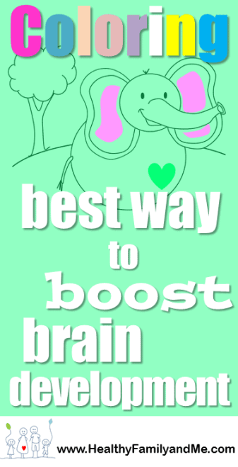Coloring book for kids with free coloring pages. Check out this brain booster coloring book for kids. #kidscoloring #coloring #brainboost