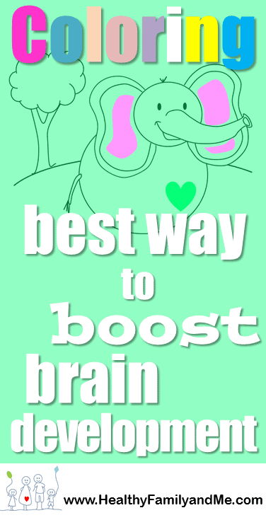 Kids coloring book with free coloring pages. Check out this brain booster coloring book for kids. HealthyFamilyandMe.com