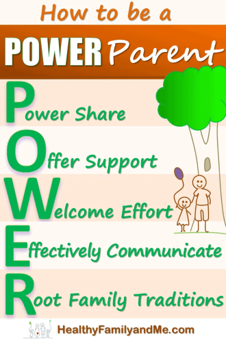 become a power parent today with these 5 simple strategies. #powerparent #parentingtips #bestparenting