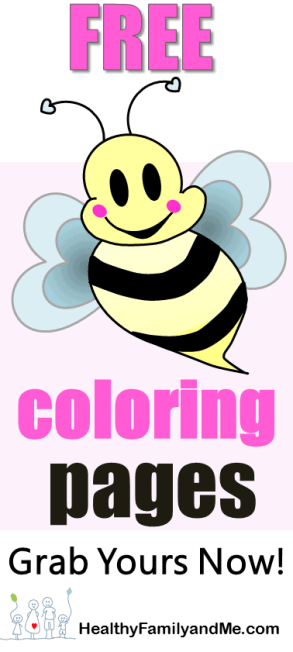 Bee coloring page. Grab your free printable pages now! Click for the best bee art. #beecoloring #savethebee #bestbeeart #kidscoloring #adultcoloring