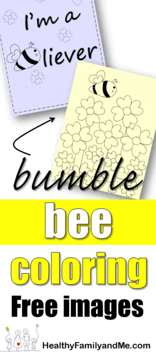 Do you also like the cute bumble bee? Get some free bee coloring pages today. #coloringkids #coloringfun #beecoloring #savethebees #kidslearing
