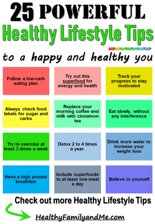 Get the powerful tips to have that healthy lifestyle with the top 25 healthy lifestyle tips for busy moms. Read now. #freeprintables #healthylifestyle #healthy #happy #healthyfamily #lowcarb
